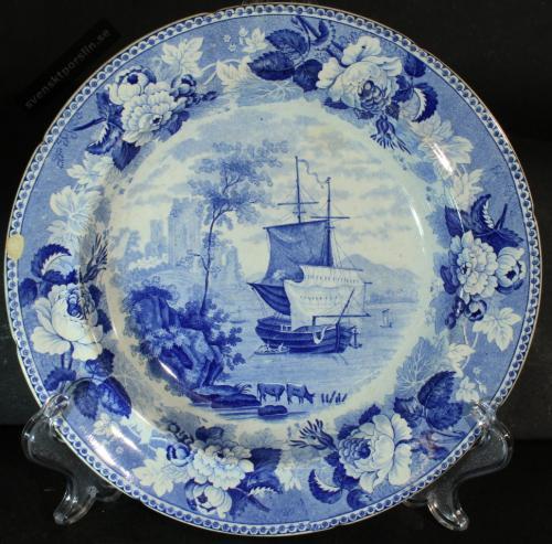 Rörstrand 1828 års servis 1828 -1880 PG