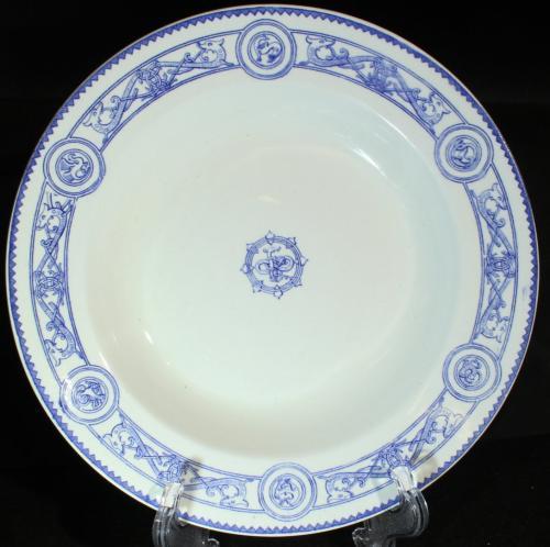 Gustavsberg Fornnordiskt mönster 1870 o 1917 PG