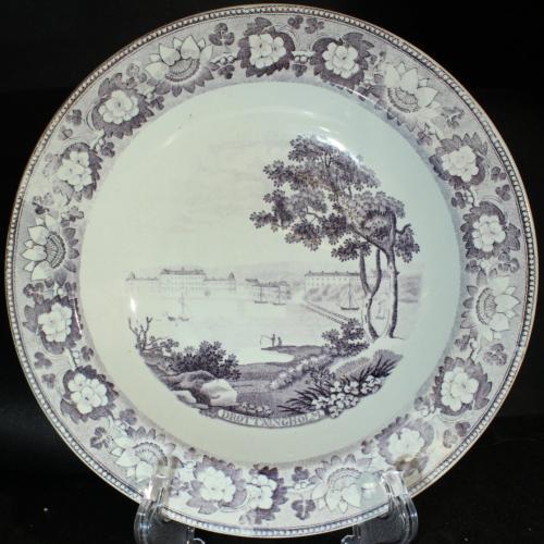 Gustavsberg Lotusbård 1830-tal PG