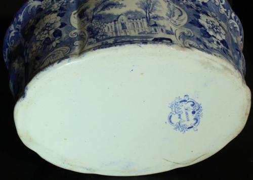 Rörstrand Dacca 1848 - ca 1900 nr03 ModA Terrin D28.8x12.3