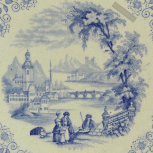 Rörstrand Dacca 1848 - ca 1900 nr12