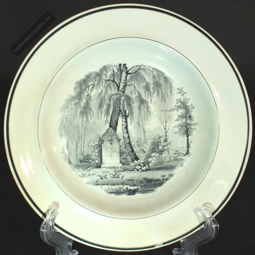 Rörstrand Engelbrechts Holmen 1820-talet PG
