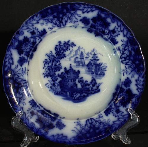 Rörstrand Flytande blått Pagod 1852 – 1926 PG
