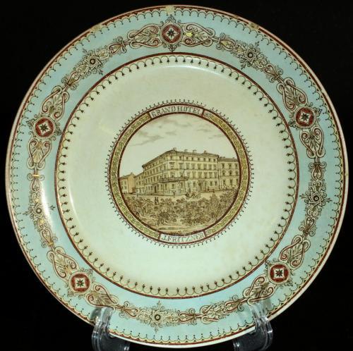 Rörstrand Grand Hotell J Fritzner ca1880 PG