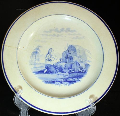 Rörstrand Kvinna ber 1820-1830-tal PG