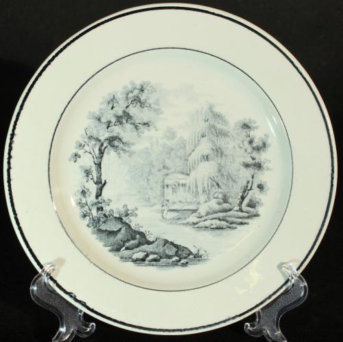 Rörstrand Vyer ca 1826 - 1860 PG